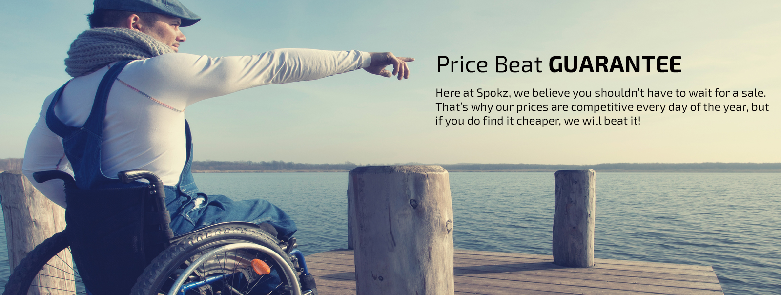 Wheelchair user racing