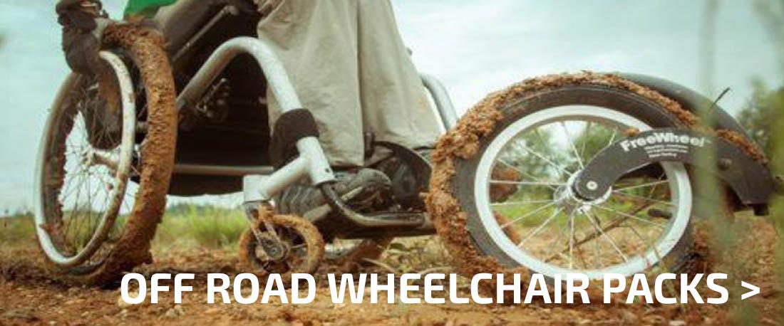 Off Road Wheelchair Packs