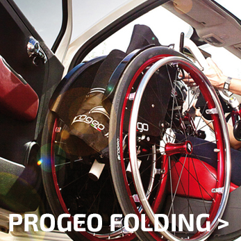 Progeo Folding Wheelchairs