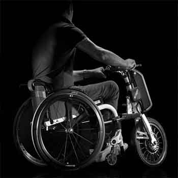 Wheelchair power add-ons